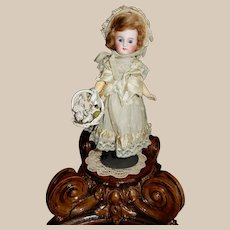 DAINTY and Petite 10' Sonneberg Doll Made for the French Market