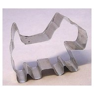 Vintage Metal Cookie Cutter ~ Scotty Dog 3 1/4""