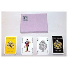 Double Deck Waddington Playing Cards, Shakespeare Quadracentennial, c.1964