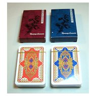 Twin Decks AG Muller Playing Cards, Giorgio Tavaglione Designs $20/ea., c.1985