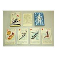 """OTK """"Kvarteto Historické Lode"""" Quartett Card Game, c.1940s – 1950s"""