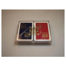 Double Deck Worshipful Company Playing Cards, Bridge Deck, c.1990