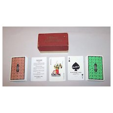 "Double Deck ""Plastikard"" Plastic Playing Cards, c.1950"