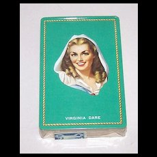 """USPC Congress """"Virginia Dare"""" Pin-Up / Glamour Playing Cards, c.1940s"""