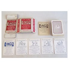 "Atkins & Company ""Lingo Spanish"" Card Game, Centaphrase Society Copyright, c.1916"