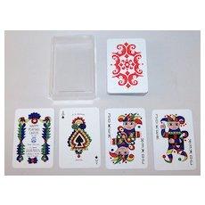 "F.X. Schmid ""Happy Playing Cards,"" Doris Tusch Designs, c.1966"