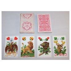 """Dondorf No. 301 """"German"""" (""""Deutsche Spielkarten No. 301"""") Playing Cards, c.1884"""