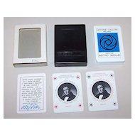 "Solleone (Plastic Cards) ""Officine Calloni"" Playing Cards, Sergio Calloni Publisher, Manzoni Commem., Ltd. Ed. (1182/1500), Sterneri and Antonioli Designs (1840 Gonin Illus. -- ""The Betrothed""), c.1973"