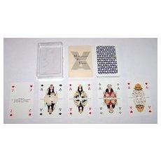 """Bielefelder """"Management by Cards"""" Skat Playing Cards, For """"VA – Akademie fur Führen und Verkaufen,"""" Ackermann and Bonne Designs, c.1976"""