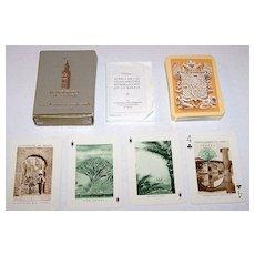 """Fournier """"Monumentos de Espana"""" Souvenir Playing Cards, c.1959"""