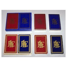 """2 Double Decks USPC """"Pittsburgh & Lake Erie Railroad"""" Playing Cards $15/ea, 1 Congress and 1 Liberty, c.1977"""