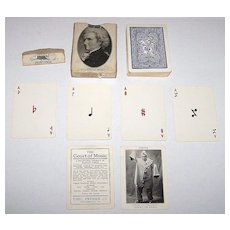 """Theo. Presser """"Court of Music"""" Playing Cards, """"New Suits"""" Deck, c.1910"""
