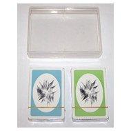 "Double Deck Piatnik ""Anton Lehmden"" Playing Cards, Edition Hilger, Anton Lehmden Designs, c.1981"