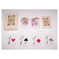 "Modiano ""Tadini"" Playing Cards, Emilio Tadini Designs, Ltd. Edition (___/1000), c. 1982"