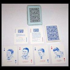 "R. Billingsley ""Reagan's Rogues Gallery"" Playing Cards, Ltd. Ed. (236/350), c.1987"