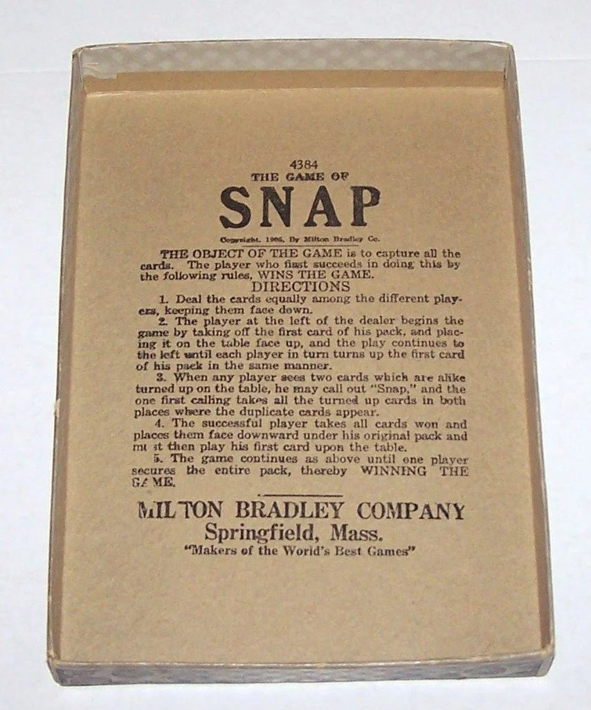 how to play snap card game