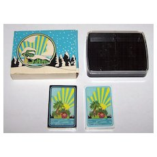 "Double Deck USPC (Standard) ""Island Records"" Playing Cards, c.1970"