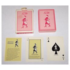 "American Drummer Playing Card Co. ""American Drummer"" Playing Cards, Roy Lipstreu Designs, c.1976"