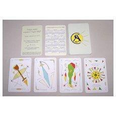 "AS.A.CO.N. (Argentina) Playing Cards, ""Siglo XXI"", Ltd. Ed. (019/250) Marotta Designs"