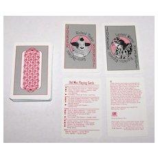 "Metropolitan Opera Guild ""Old Met Playing Cards,"" Maker Unknown, Kathryn Perry Designs, c.1986"