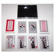 "Double Deck Metropolitan Opera Guild ""Old Met Playing Cards,"" Maker Unknown, Kathryn Perry Designs, c.1986"