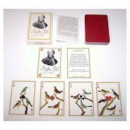 "Grimaud ""Jeu Buffon"" Playing Cards, Jacques Hiver Designs, c. 1988"