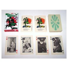 "Ed-U-Cards ""Green Hornet"" Playing Cards, Greenway Productions, c.1966"