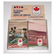 """Double Deck Brown & Bigelow (Stardust) """"XXI Olympic Summer Games Montreal 1976,"""" c.1976"""