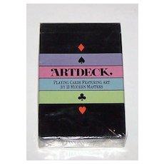 "Carta Mundi ""Artdeck"" Playing Cards, Aristoplay, Ltd., Harlin Quist Designs, c.1984"
