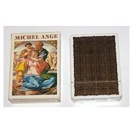 "Grimaud ""Michel-Ange"" (Michelangelo) Playing Cards, c.1981"