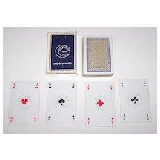 """Oyun Kâgitlari (Monopolü?) (Turkish Playing Card Monopoly) """"KZL-AY/30"""" Playing Cards (51/52), Belgian Pattern, c.1970s"""