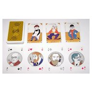 "Coeur ""750th Anniversary Berlin Commemorative"" Playing Cards, Manfred Bofinger Designs, c.1986"