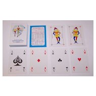 "Richard Edward, Ltd. ""Woolwich PLC"" Playing Cards, Square Corners, c.1990s"