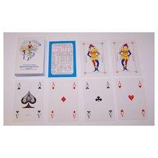 "Richard Edward, Ltd. ""Woolwich PLC"" Playing Cards, Square Corners, c.1990s"