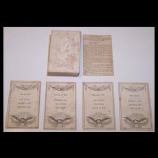 "John M. Wolff ""American Poets"" Card Game, Quartets Type, Publisher John M. Wolff, Stationer, c. 1851-1865"