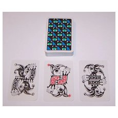 "Coeur ""Essay"" Playing Cards, Hannelore Heise Designs, c.1967"
