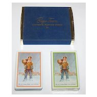 """Double Deck Brown & Bigelow """"Boys Town"""" Playing Cards, c.1950s"""