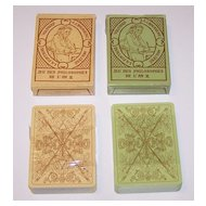 "Twin Decks Editions Dusserre (Boechat Frères) ""Jeu des Philosophes de L'An II"" Playing Cards, c.1987 ($15/ea. separate)"