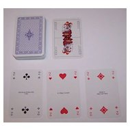 "ASS ""Hunde"" (""Hound"") Playing Cards, c.1977"