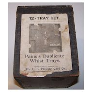 "Duplicate Whist Co. ""Paine's Duplicate Whist Trays,"" c.1899"