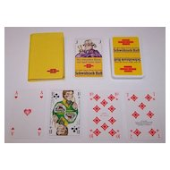 "ASS ""Schwäbisch Hall"" Skat Playing Cards, Alex Kardas Designs, c.1977"