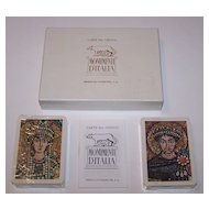 "Double Deck Fournier ""Monumenti d'Italia"" Playing Cards, c.1962"