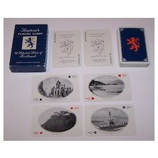 """De La Rue """"52 Selected Views of Scotland"""" Playing Cards, for United Cigar & Tobacco Co., Ltd. , Raphael Tuck Images, c.1958"""