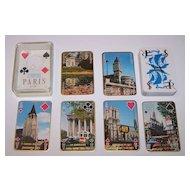 "Philibert ""Paris Scenes"" Playing Cards, c.1960"