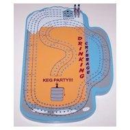 "4-Track ""Keg Party"" Cribbage Board"