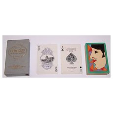 "Congress 606 ""Serge"" Playing Cards, Art Deco Design (Backs), c.1929"