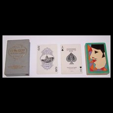 "Congress 606 ""Serge"" Playing Cards, Art Deco Design (Backs), c.1929"