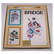 Charles Goren Bridge Set, Ready Rite Pencil, Card Maker Unknown, Score Pad Maker Unknown, c.1960s