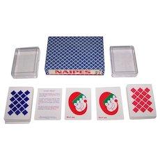 """Double Deck Productos Leo """"Naipe 'Frost'"""", Palle Seiersen Frost Designs, Limited Edition (56/100), c.1990s"""