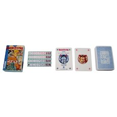 """Modiano """"Martin Mystere"""" Playing Cards, Lo Scarabeo Publisher, Giancarlo Alessandrini Designs"""